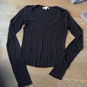 Black Comfy Long Sleeve
